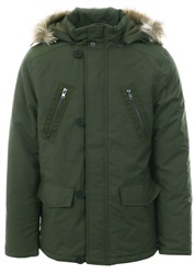 Jack Wills Olive Newton Hooded Parka Coat