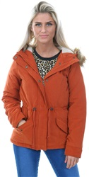 Only Picante Canvas Parka Coat