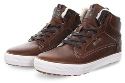 Mustang Chestnut Mid Lace Up Boot