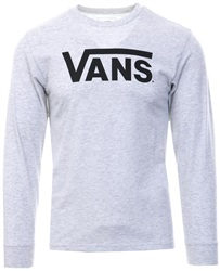 Vans Ash Heather Grey Classic  L/Sleeve T-Shirt
