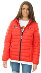 Ellesse Scarlet Red Lompard Padded Jacket