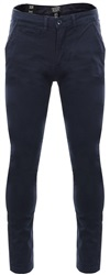 Threadbare Navy Boston Fitted Skinny Chino