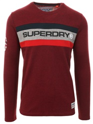 Superdry Bright Berry Grit Trophy Long Sleeves T-Shirt