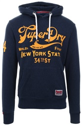Superdry Montanna Blue 34th Street Hoodie