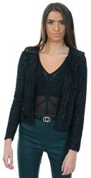 Veromoda Black Embellished Jacket