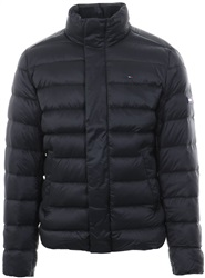 Tommyhilf Black Down-Filled Puffer Jacket