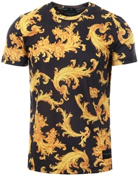 Criminal Damage Black/Gold S/Sleeve Local Tee