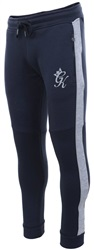 Gym King Navy Herrera Tracksuit Bottoms