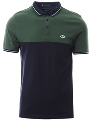 Le Shark Green Tower Short Sleeve Polo Shirt