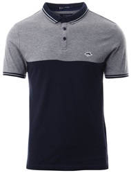 Le Shark Mid Grey Marl Tower Short Sleeve Polo Shirt