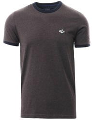 Le Shark Dark Grey Marl Maryon Short Sleeve T-Shirt