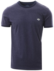 Le Shark Indigo Marl Maryon Short Sleeve T-Shirt
