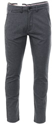 Jack & Jones Black Dog Tooth Slim Trouser