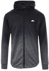 Ellesse Charcoal Vieri Zip Up Two Tone Hoody