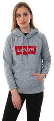 Levi's Grey Graphic Sport Pull-Over Hoodie