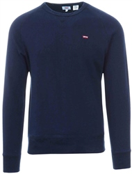 Levi's ® Indigo - Blue Original Housemark Icon Crewneck