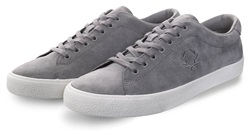 Fred Perry Falcon Grey Suede Crepe Lace Up Shoe