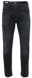 Jack & Jones Black Mike Dash Ge 784 Comfort Fit Jeans