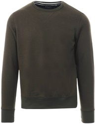 Brave Soul Khaki Crew Neck Pull Over Sweater