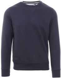 Brave Soul Navy Crew Neck Pull Over Sweater
