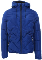 Superdry Cobalt Blue Xenon Padded Zip Up Jacket