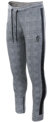 Gym King Prince Of Wales Check Charmer Tracksuit Bottoms