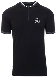 Bee Inspired Black Tono Polo S/Sleeve Shirt