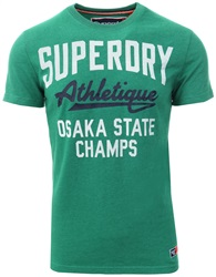 Superdry Vermont Green All Work Heritage Classic T-Shirt