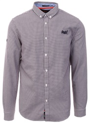Superdry Purple Check Premium Button Down Shirt