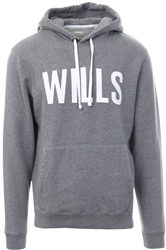 Jack Wills Grey Batsford Pop Over Hoodie