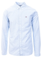 Hilfiger Denim Light Blue Tommy Classics Stripe Shirt