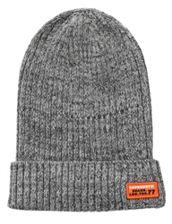 Superdry Leadway Grey Wiseman Knitted Beanie