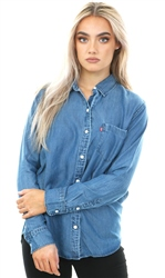 Levi's Denim Ultimate Boyfriend Button Down Shirt