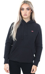 Levi's Black Sportswear Pull Over Long Sleeve Hoodie