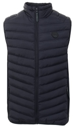 Soulstar Navy Puffer Jacket Style Body Warmer