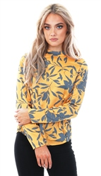 Veromoda Golden Nuggett Olivia High Neck Long Sleeve Top