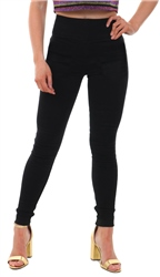 Pieces Black High Waist Soft Skinny Fit Jean