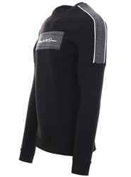 Kings Will Dream Black / Check Carrock Side Tape Sweatshirt