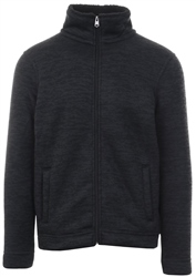 Kensington Charcoal Textured Zip Up Jacket