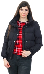 Brave Soul Black Zip Up Padded Coat