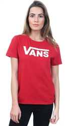 Vans Scooter Red Flying V Crew Neck T-Shirt