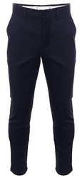 Jack & Jones Dark Navy Marco Charles Ww 200 Slim Fit Trousers