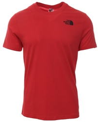 The North Face Red Black Box Print T-Shirt