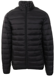 Broken Standard Black Puffa Padded Jacket