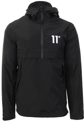 11degrees Black Waterproof Hurricane Windbreak