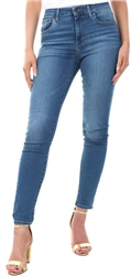 Levi's Dust In The Wind 721 High Rise Skinny Jeans