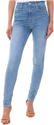 Levi's You Got Me - Light Blue Mile High Super Skinny Jeans