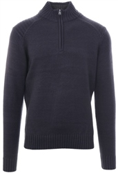 Kensington Navy Half Zip Up Pullover Sweater