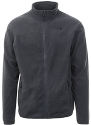 The North Face Charcoal 100 Glacier Zip Up Jacket