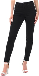 Levi's Soft Black - Black 721 High Rise Skinny Jeans